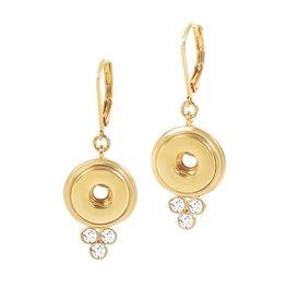 Gingersnap Petite Earrings - Lyra Gold