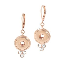 Gingersnap Petite Earrings - Lyra Rose Gold