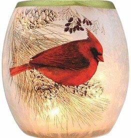 Cardinals & Pines Small Vase Light