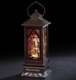 """11"""" LED Holy Family Lantern"""