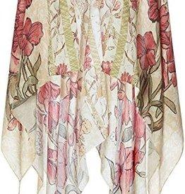 Red Floral Kimono