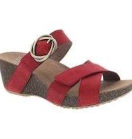 Dansko Susie Red Milled Nubuck Size 38