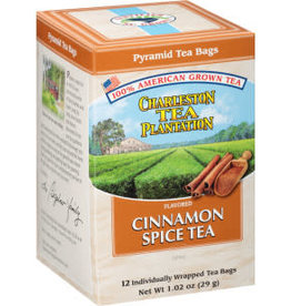 Charleston Tea Bags Cinnamon Spice Box of 12 Teabags