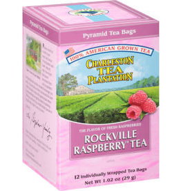 Charleston Tea Bags Rockville Raspberry Tea Box 12 Tea Bags