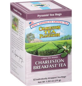 Charleston Tea Bags Charleston Breakfast Tea Box 12 Tea Bags