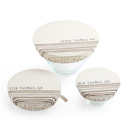 Mix things Up Dish Cover - Set of 3