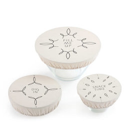 Fill me Up dish Cover - Set of 3