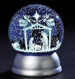 "5.7"" LED Holy Family Night Sky Globe"