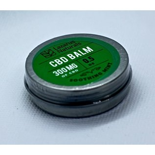 Lazarus Naturals laz 300mg balm soothing mint