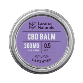 Lazarus Naturals 300mg balm lavender