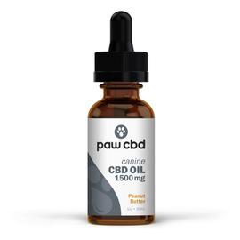 Paw CBD Oil 1500mg Peanut Butter