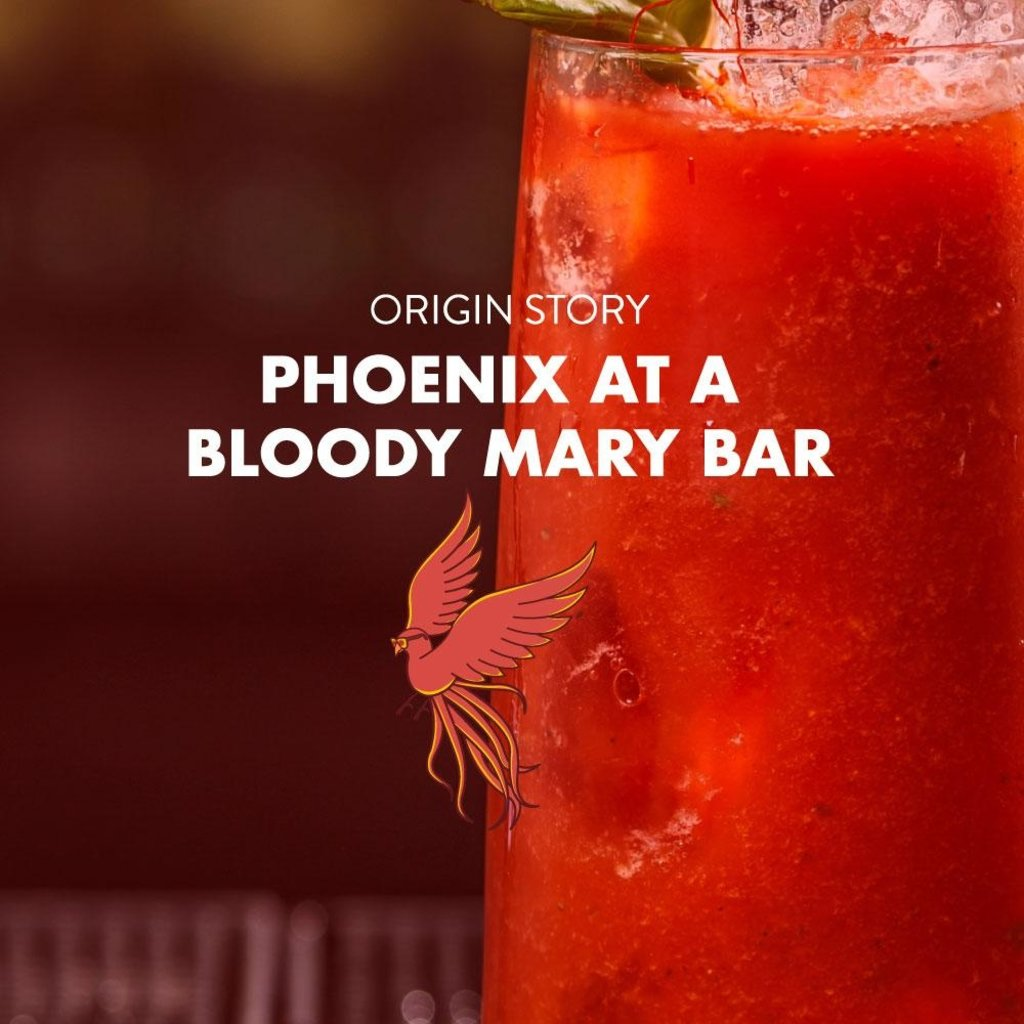 GOODR Phoenix At A Bloody Mary Bar