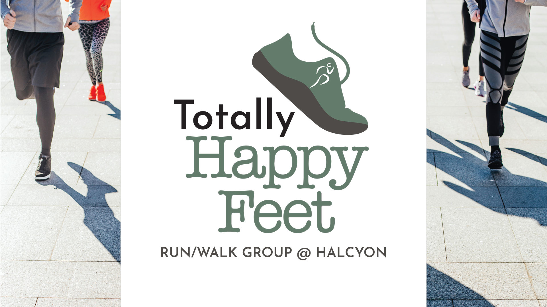 Join us for the inaugural Totally Happy Feet Run or Walk on Thursday, September 26, 2019.