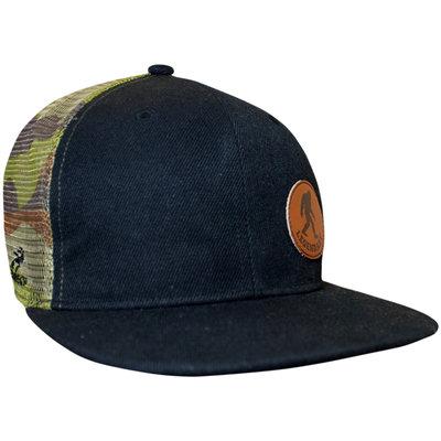 HEADSWEATS Flat Bill Trucker Hat BF Camo
