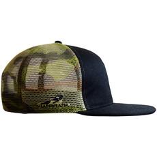Flat Bill Trucker Hat BF Camo