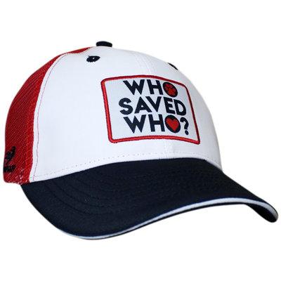 HEADSWEATS Trucker Hat Who Saved Who