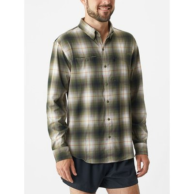 ALTRA Men's Trail long Sleeve Button Up