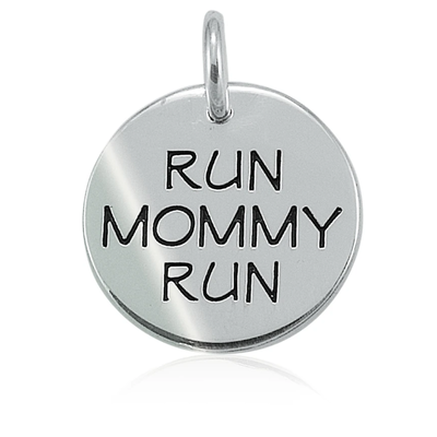 Lift Your Sole Run Mommy Run Charm