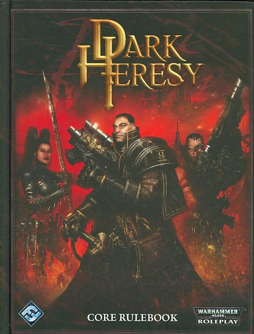 Games WorkShop Dark Heresy - Core Rulebook