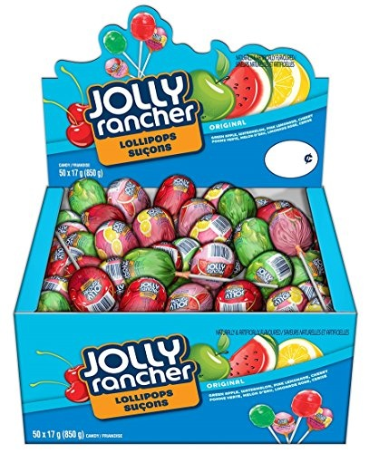 Suçon Jolly Rancher Saveurs Variées