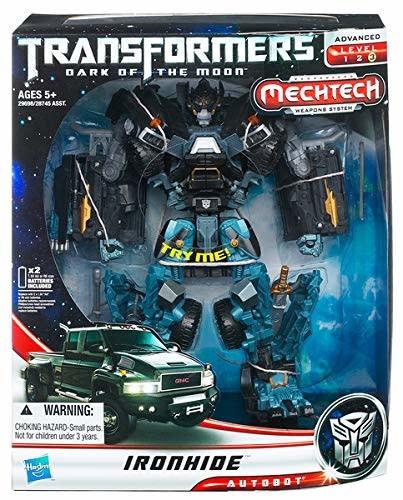 Hasbro Transformers: Dark of the Moon - MechTech Leader Class-Ironhide Autobot 2010