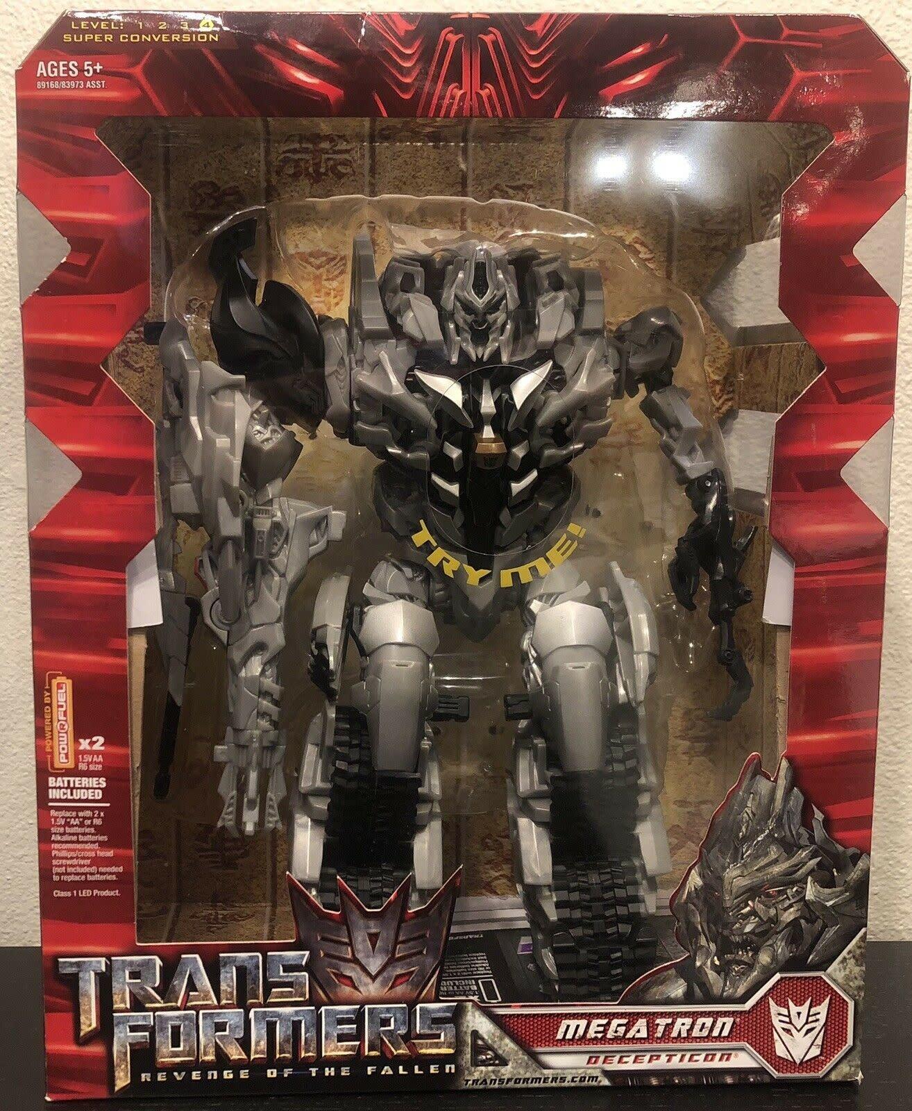 Hasbro Transformers; Revenge Of The Fallen-Class Leader Megatron Decepticon 2008