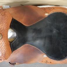 Tex Tan Used Tex Tan Barrel Saddle - WT 84
