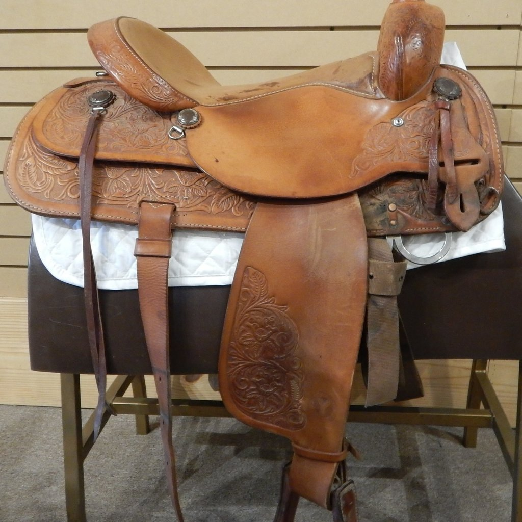 Circle Y Used  Circle Y Trail Saddle - WT 73