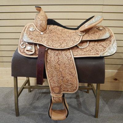 Tex Tan Used Tex Tan Show Saddle