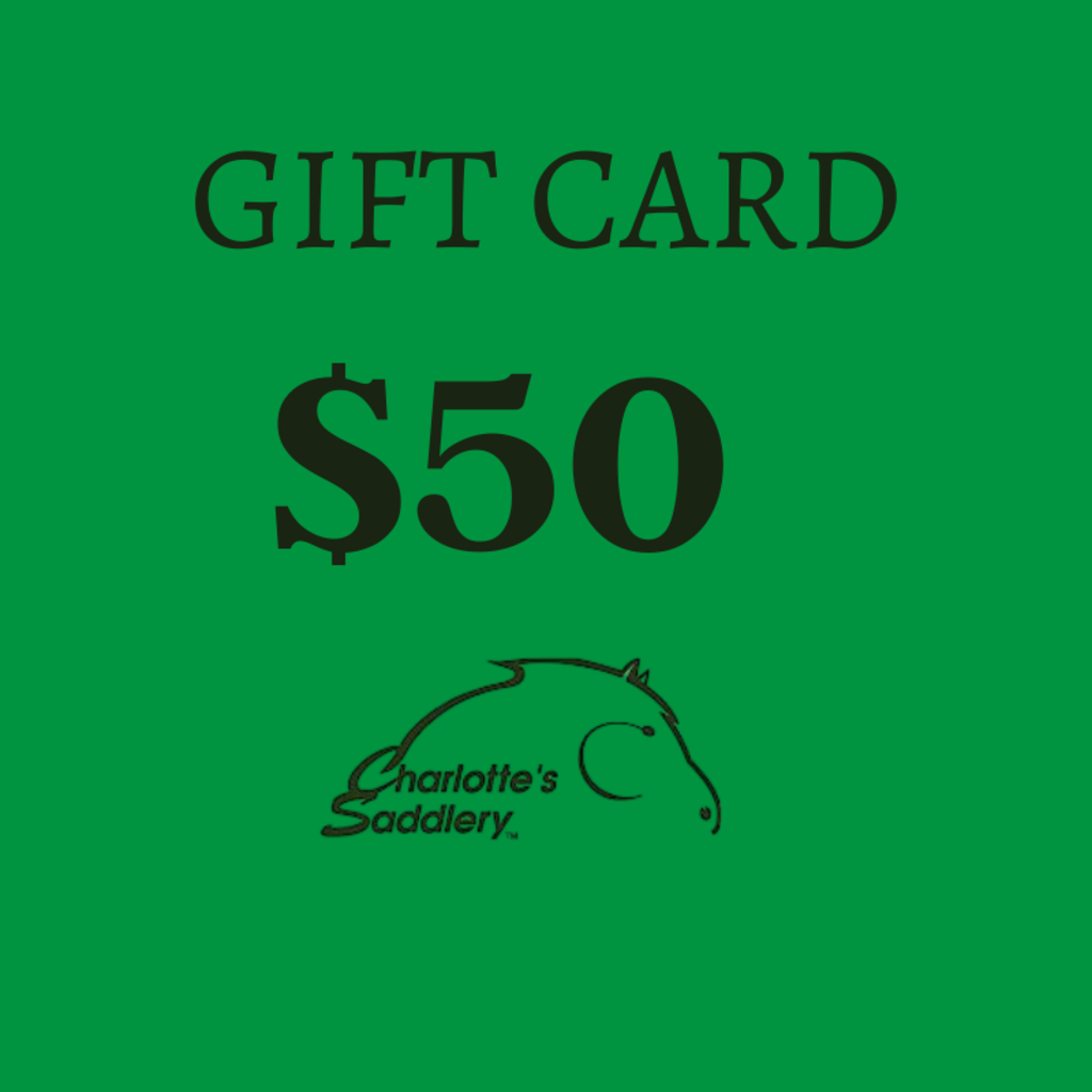 Charlotte's Saddlery Gift Card