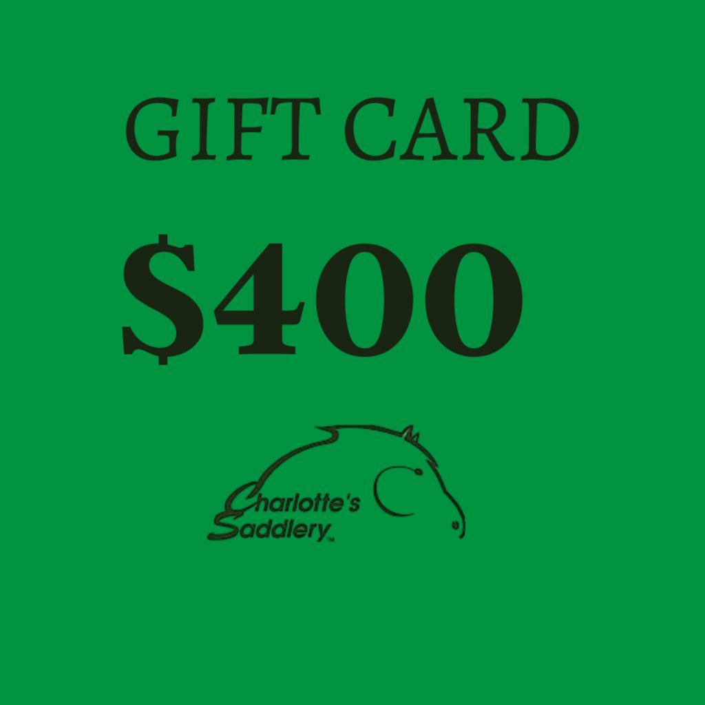 $400.00 Gift Card