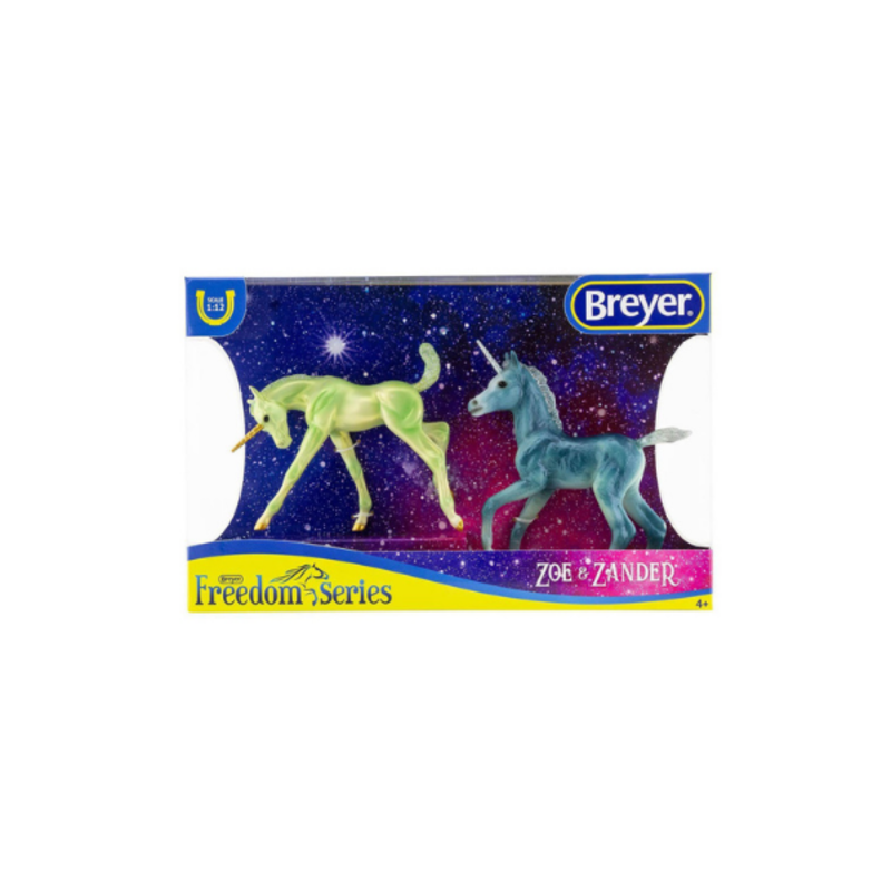 Breyer Breyer Zoe and Zander, Unicorn Foals