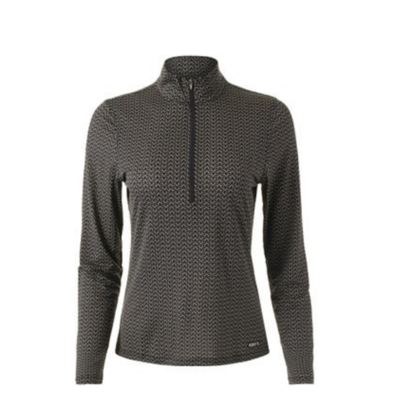 Kerrits Ice Fil Lite Long Sleeve Riding Shirt Print
