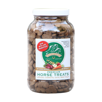 Giddyap Girls Premium Horse Treats 3.5Lb Jar