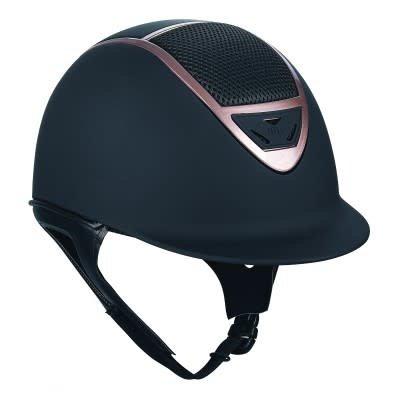IRH Helmets IRH XLT Helmet Matt/Matt Black/Rose