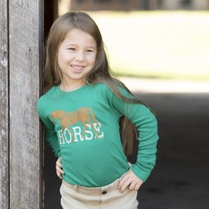 Stirrups Youth Long Sleeve Tee