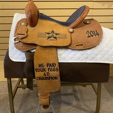 Tod Slone Used Tod Slone Barrel Saddle - WT87