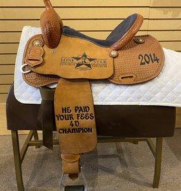 Tod Slone Used Tod Slone Barrel Saddle