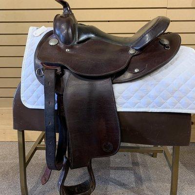 Circle Y Used Circle Y Equitation Saddle