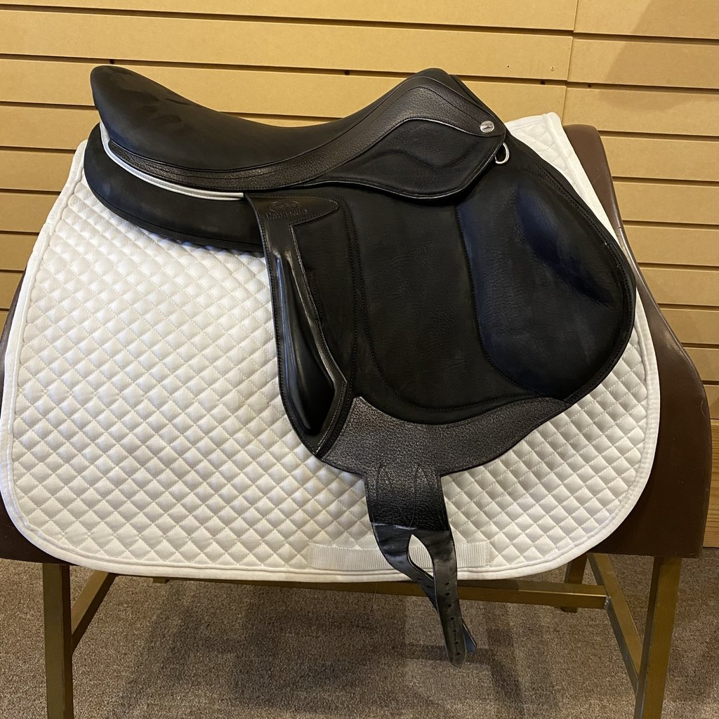 Used Devoucoux Chiberta Lab Eventing Saddle - T313
