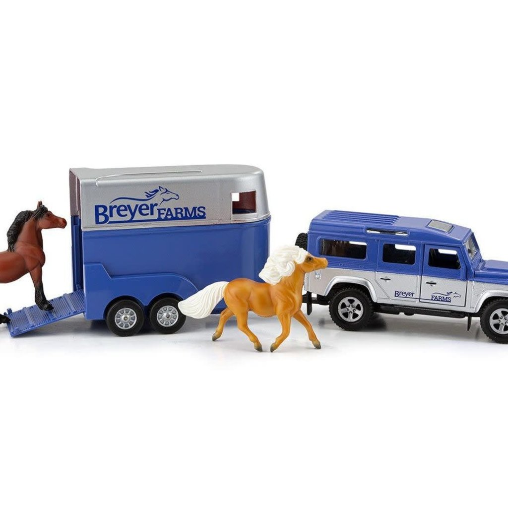 Breyer Breyer Farms Land Rover and Trailer