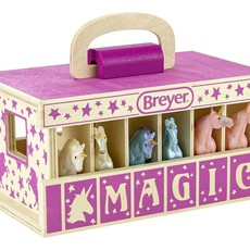 Breyer Breyer Unicorn Magic Wooden Carry Case