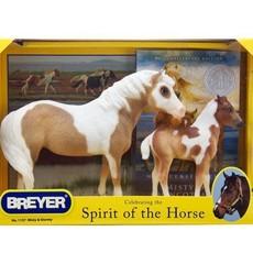 Breyer Breyer Misty and Stormy w/ Book