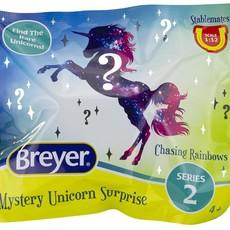 Breyer Breyer Mystery Unicorn Chasing Rainbows