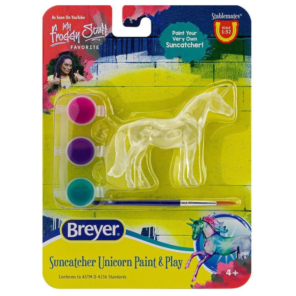 Breyer Breyer Suncatcher Unicorn Paint & Play