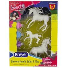 Breyer Breyer Unicorn Family Paint & Play