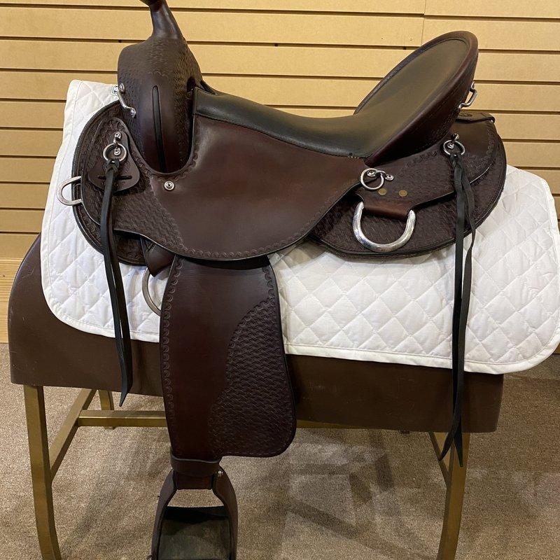 DIXIELAND Used Dixieland Trail Gaited Saddle