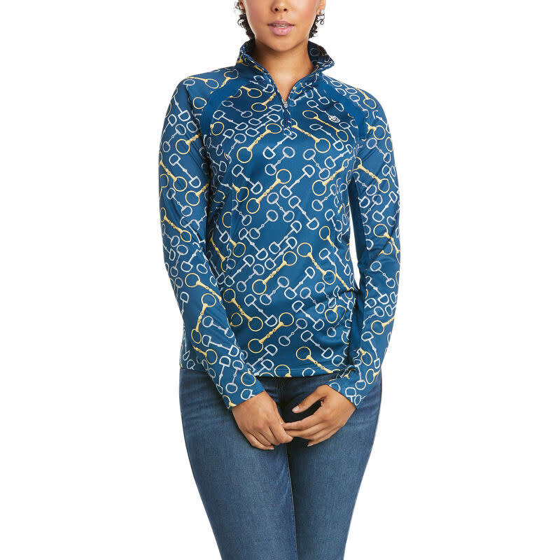 Ariat Ariat Sunstopper 1/4 Zip Ladies Pattern