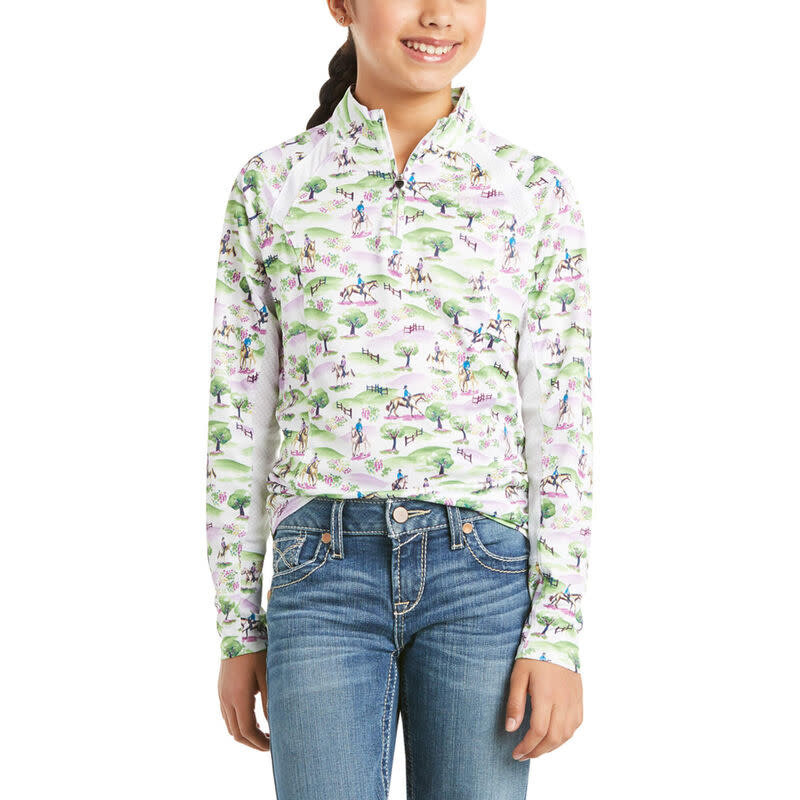 Ariat Ariat Girls Sunstopper LS Print