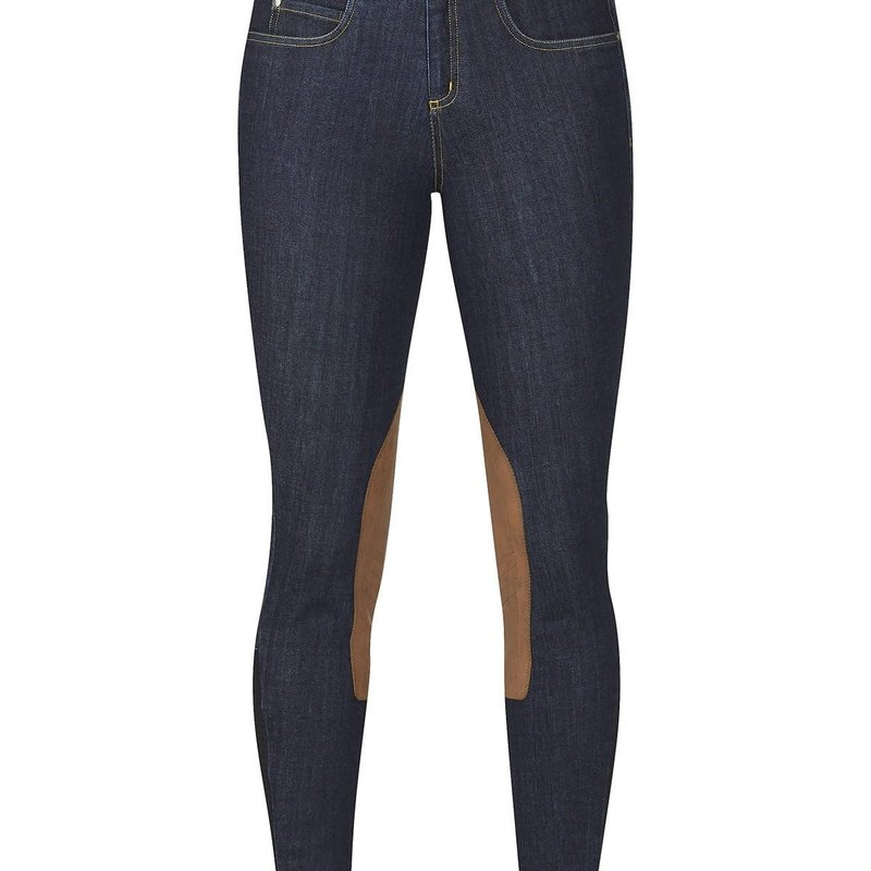 Kerrits Stretch Denim Knee Patch Breech